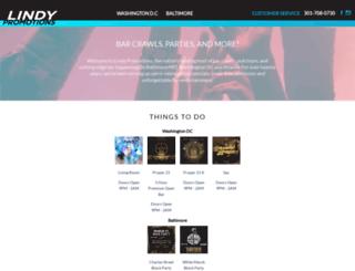 lindypromo.com screenshot