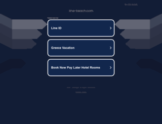 line-beach.com screenshot