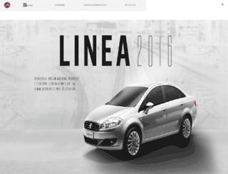 linea.fiat.com.br screenshot