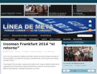 lineademeta.com screenshot