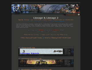 lineage.extreme-gamerz.org screenshot