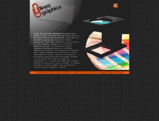 lineagraphica.mx screenshot