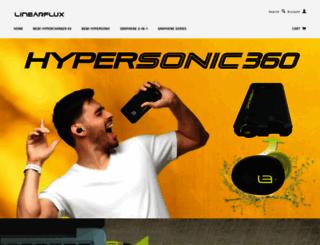 linearflux.myshopify.com screenshot