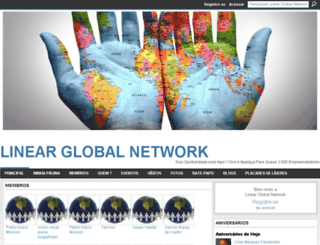 linearglobalnetwork.ning.com screenshot