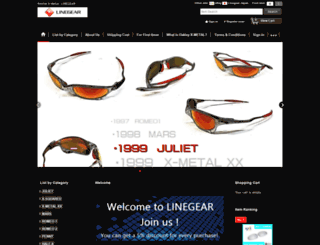 linegear-japan.com screenshot