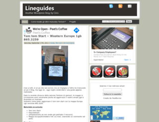 lineguides.netsons.org screenshot
