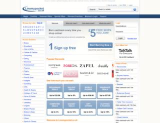 linemypocket.co.uk screenshot