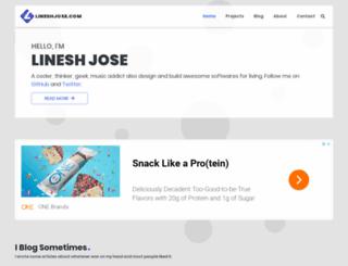 lineshjose.com screenshot