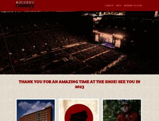 lineup.buckeyecountrysuperfest.com screenshot