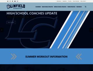 linfieldsports.wpengine.com screenshot