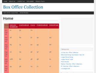 lingaaboxofficecolletions.com screenshot