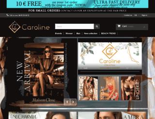 lingerie-caroline.fr screenshot
