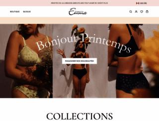 lingerieemma.com screenshot