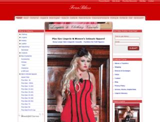 lingerieforplussize.com screenshot