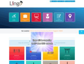 lingo.edu.sg screenshot