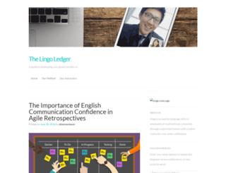 lingolive.wordpress.com screenshot