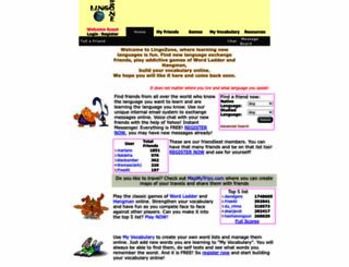 lingozone.com screenshot