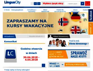 lingua-city.com screenshot