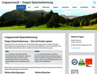 linguaconsult.eu screenshot