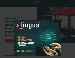 lingualand-radom.pl screenshot