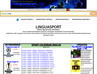 linguasport.com screenshot