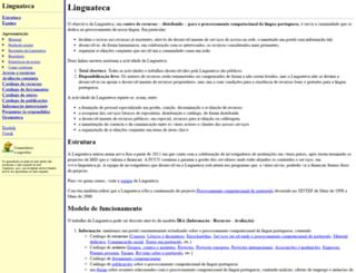 linguateca.pt screenshot