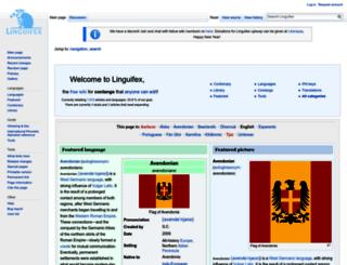 linguifex.com screenshot