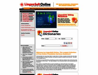 lingvozone.com screenshot