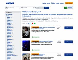 lingwa.de screenshot