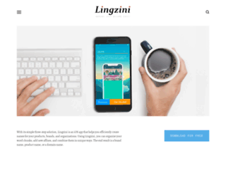 lingzini.com screenshot