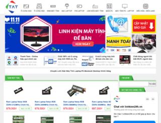 linhkien24h.vn screenshot
