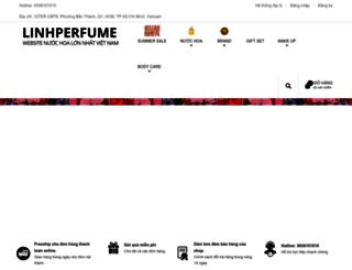 linhperfume.com screenshot