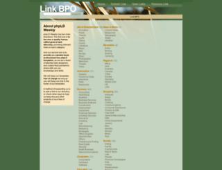 link-bpo.info screenshot