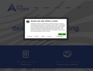 link-building.it screenshot