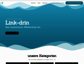 link-drin.de screenshot
