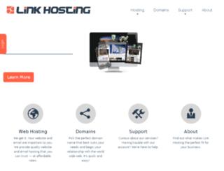 link-hosting.com screenshot