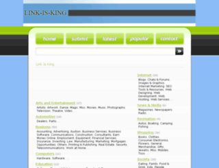 link-is-king.info screenshot