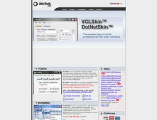 link-rank.com screenshot
