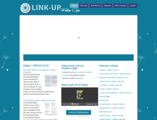 link-up-wcape.co.za screenshot