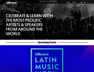 link.billboardevents.com screenshot