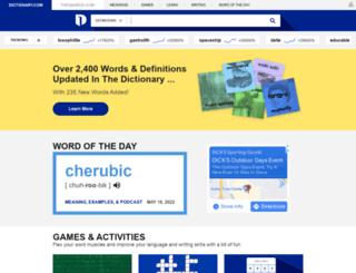 link.dictionary.com screenshot