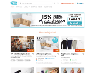 link.letsdeal.se screenshot