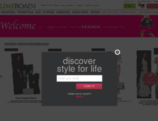 link.limeroad.com screenshot
