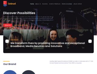link.net.id screenshot