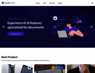 link.polarisoffice.com screenshot