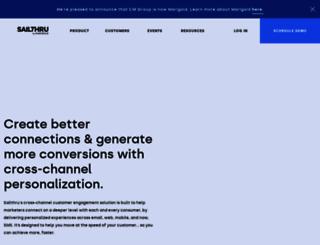 link.sailthru.com screenshot