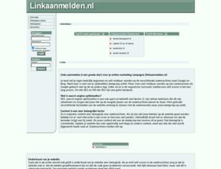 linkaanmelden.nl screenshot