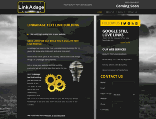 linkadage.com screenshot