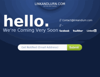 linkandlurn.com screenshot
