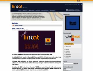 linkat.xtec.cat screenshot